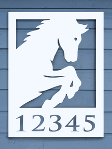 Horse-Profile House Plaque