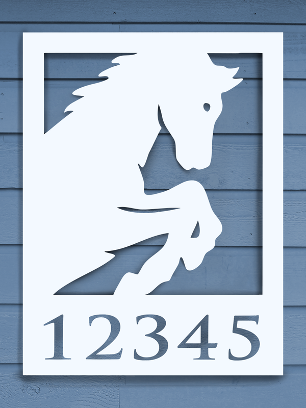 Horse-Profile House Plaque-Nature Brackets