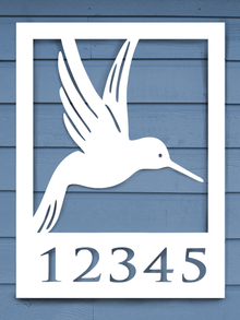 Hummingbird House Plaque