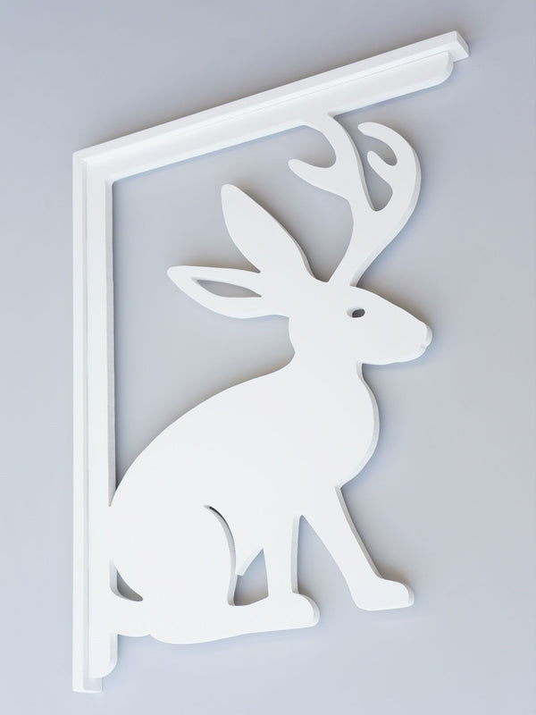 Jackalope Decorative Bracket-Nature Brackets