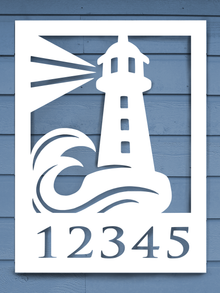 Lighthouse House Plaque