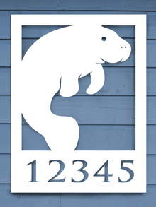 Manatee House Plaque