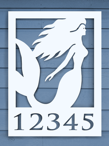 Mermaid House Plaque