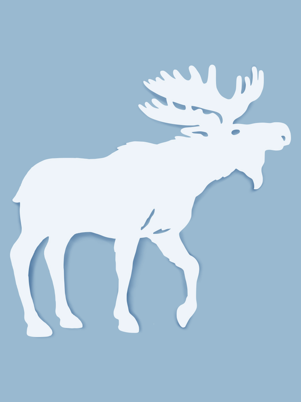 Moose Wall Art-Nature Brackets
