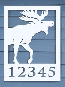 Moose House Plaque
