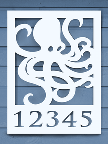 Octopus House Plaque