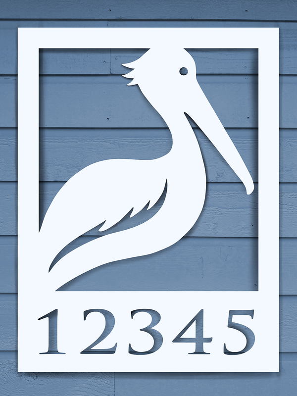 Pelican House Plaque