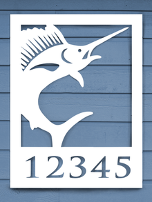 Sailfish House Plaque