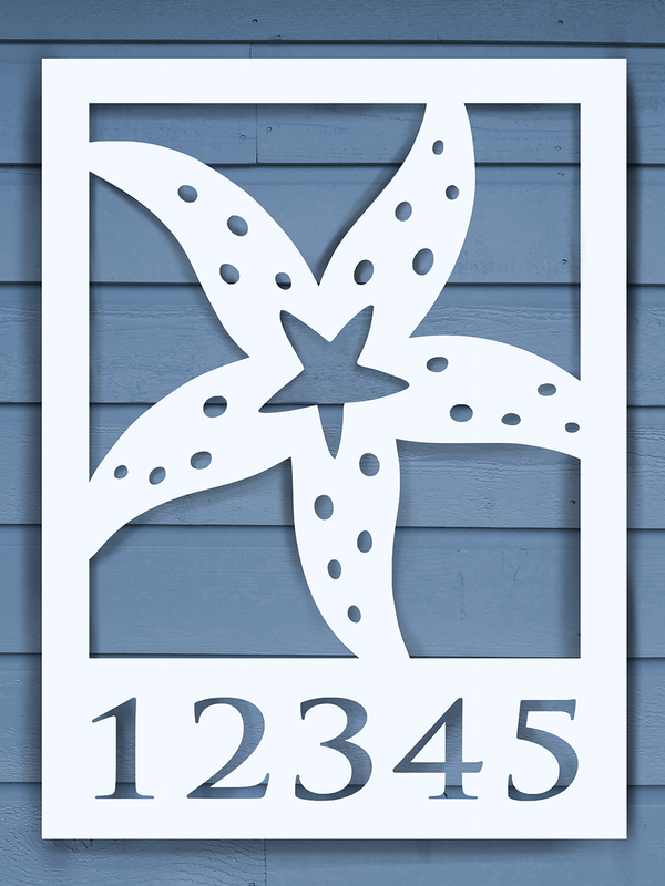 Starfish House Plaque