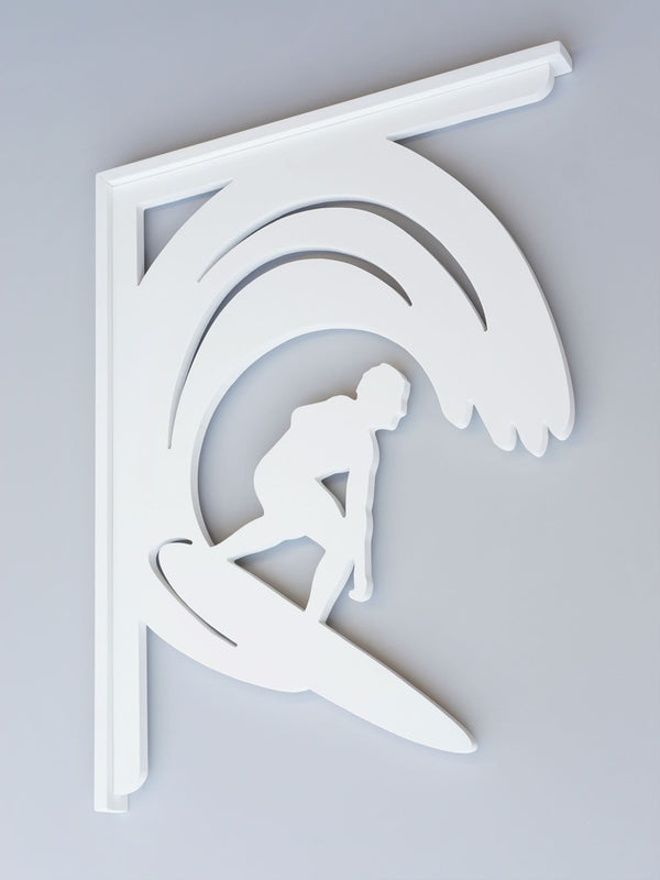 Surfer Decorative Bracket