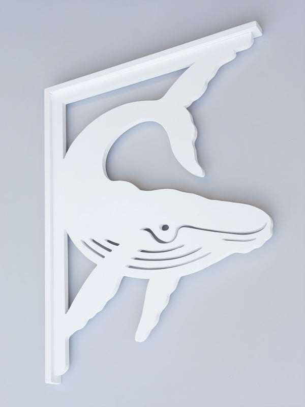 Whale Decorative Bracket-Nature Brackets