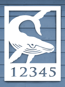 Whale House Plaque