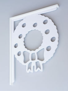Christmas Wreath Decorative Bracket