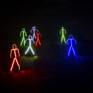 Lightup stickman Costume Group