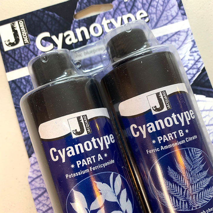 JACQUARD CYANOTYPE KIT UNBOXING