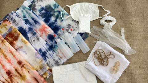 tie dye kit with modern colors