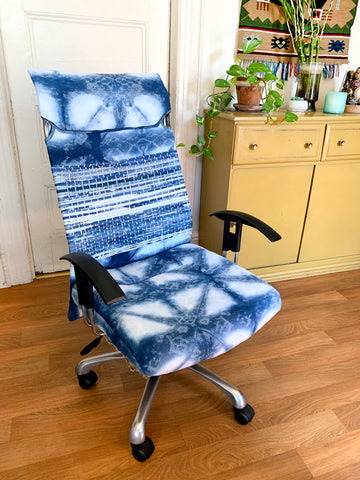office chair reupholstery done