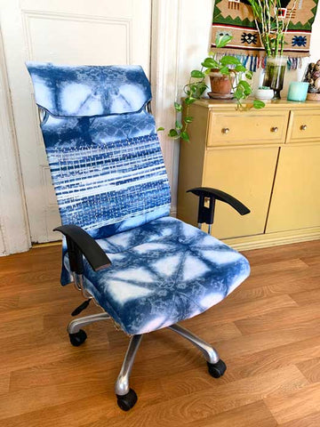 reupholstery tutorial office chair