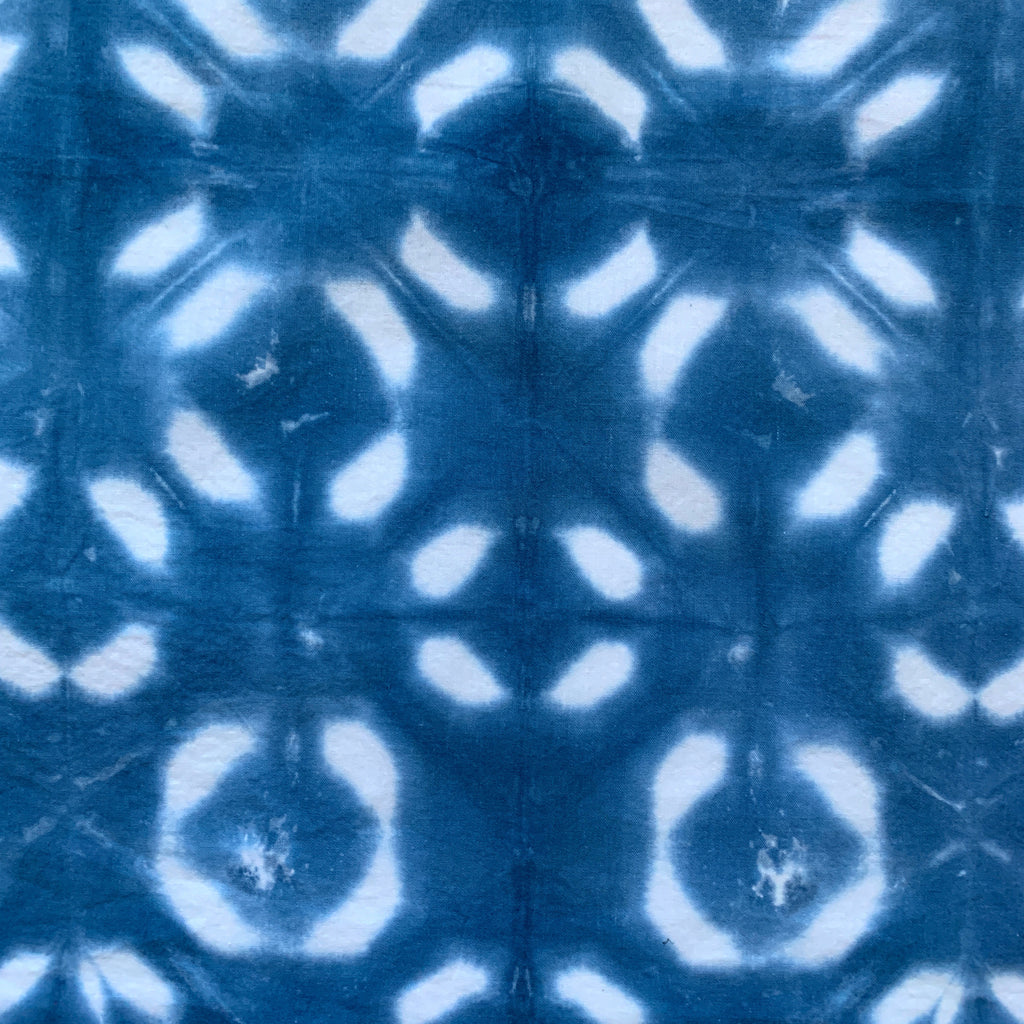 Diamond Geo Shibori Indigo Tie Dye Digital Download