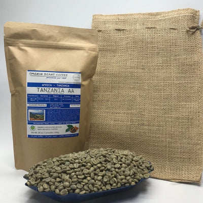 Tanzania AA – Specialty Grade – Premium Unroasted Green Coffee Beans - Fresh Current Crop African Coffee