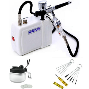 Airbrush Kit with Mini Air Compressor