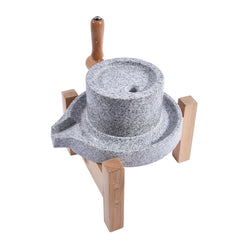 Ancient Mayan granite stone milstone stone grinder for handmade chocolate