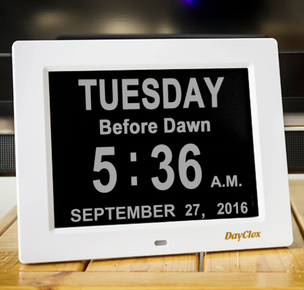 DayClox - '5 CYCLE' Memory Loss Day Clock