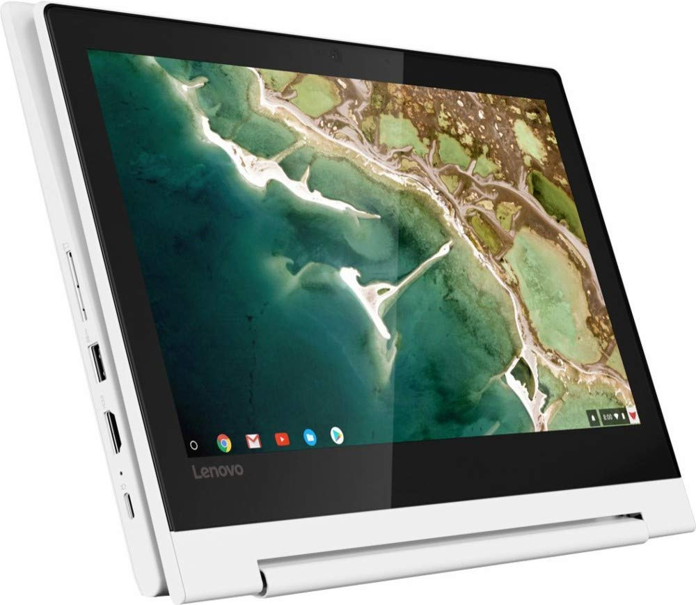 "2019 Lenovo 11.6"" HD IPS Touchscreen 2-in-1 Chromebook, Quad-Core MediaTek MT8173C (4C, 2X A72 + 2X A53), 4GB RAM, 32GB eMMC, 802.11ac WiFi, Bluetooth 4.2, HDMI, Type-C, Chrome OS"