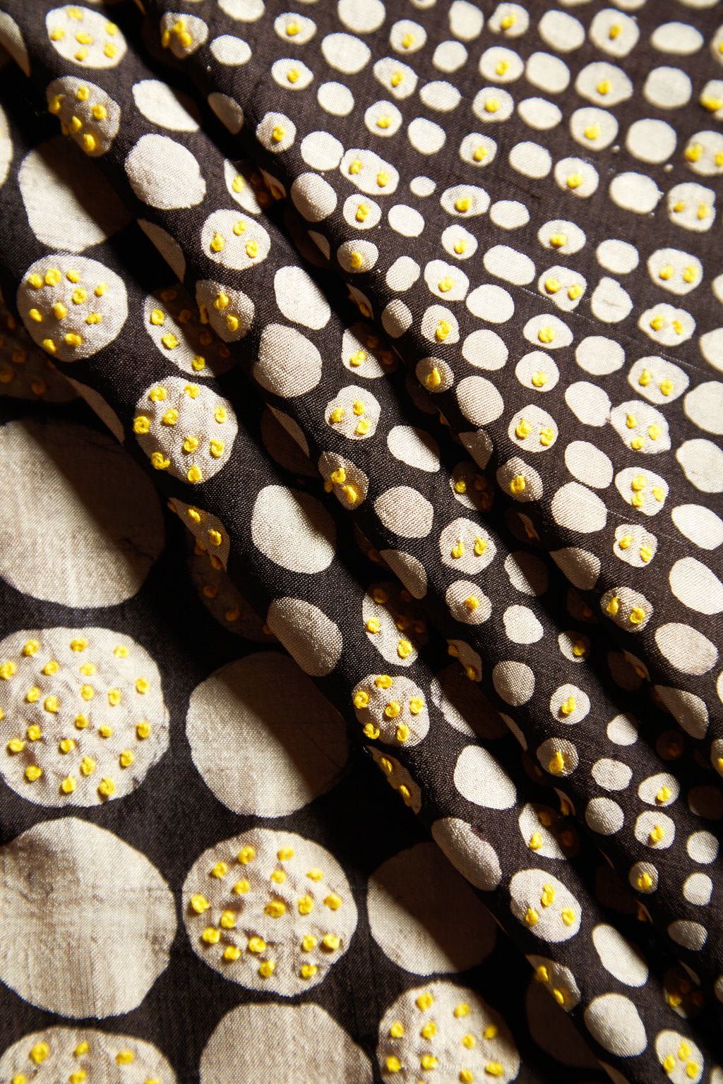An Indelible Classic - Reversible - Yellow Cotton Silk Square Scarf