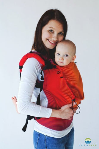Little Frog Ergonomic Carrier Ammolite in Love 1