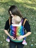 Little Frog Ergonomic Carrier Dark Spectrolite
