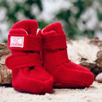 First shoes made of boiled wool