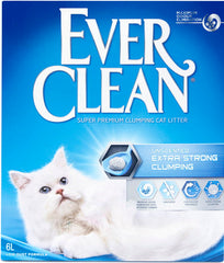 Ever Clean Extra Strong Scented -kissanhiekka 6 L