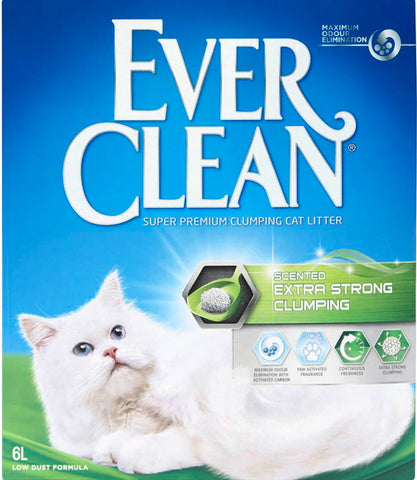 Ever Clean Extra Strong Unscented -kissanhiekka 6 L