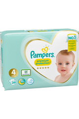 Pampers 39kpl Premium Protection S4 9-14kg vaippa