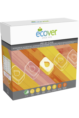 Ecover 1,3kg konetiskitabletti All-in-One 65kpl