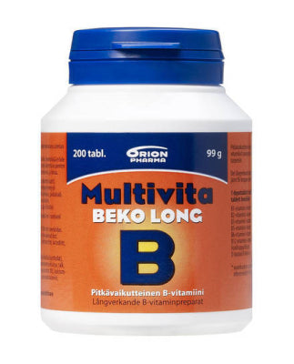 Multivita beko long (200 depottabl)