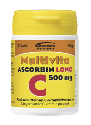 Multivita ascorbin long 500 mg (50 tabl)
