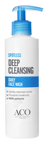 Aco spotless daily face wash (200 ml)