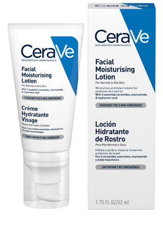 Cerave facial moisturising lotion (52 ml)