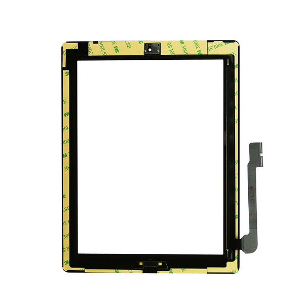 For iPad 4 Glass Touch Screen Display Digitizer Full Assembly With Home Button - TYPhonePart