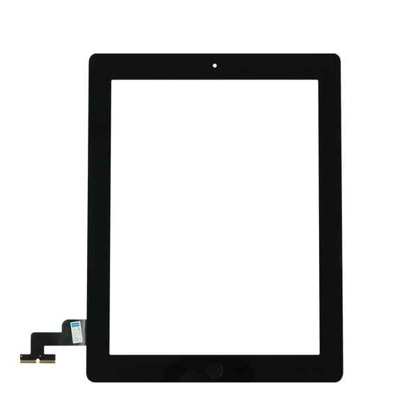 For iPad 2 Glass Touch Screen Display Digitizer Full Assembly With Home Button - TYPhonePart