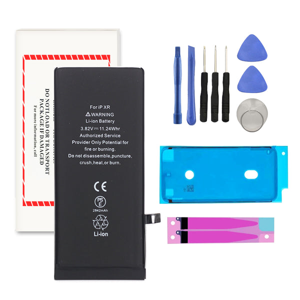 For iPhone XR Premium Battery Replacement + Repair Tools And Two Adhesive - TYPhonePart