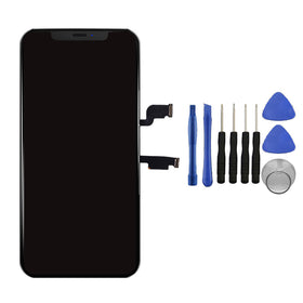 Für iPhone XS Max LCD-Bildschirm Ersatz + Digitizer Display Repair Kit und Screen Glass Protect