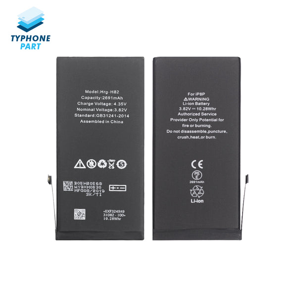 For iPhone 8 Plus Premium Battery Replacement + Repair Tools And Two Adhesive - TYPhonePart