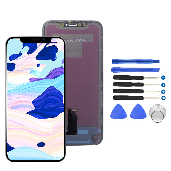 For iPhone XR OLED High Quality Touch Screen Display Replacement +Digitizer Display Premium Repair Kit - TYPhonePart