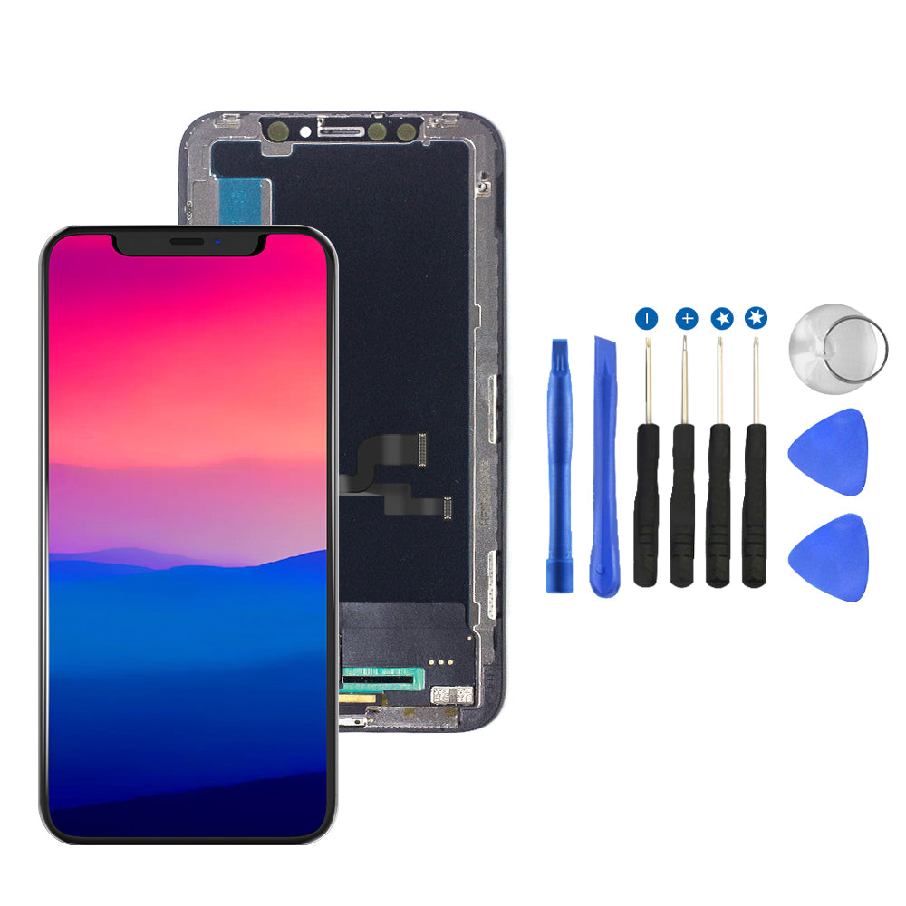 For iPhone X Premium LCD Touch Screen Replacement + Better Repair Kit And Frame Adhesive - TYPhonePart