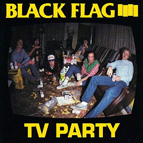 BLACK FLAG <br/> <small>TV PARTY</small>