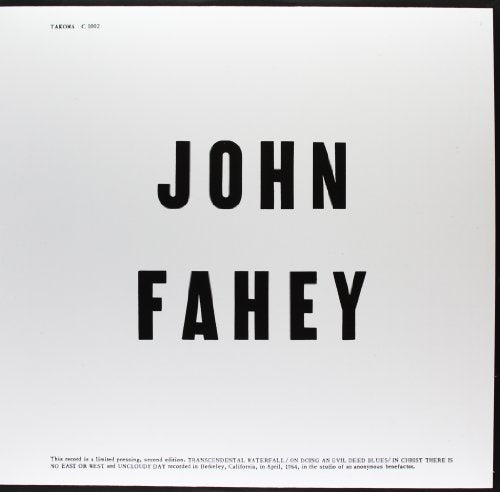 FAHEY,JOHN <br/> <small>BLIND JOE DEATH</small>