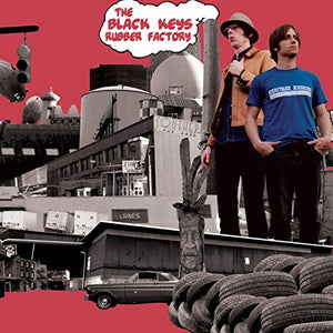 BLACK KEYS <br/> <small>RUBBER FACTORY</small>